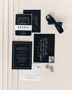 black tie invitations