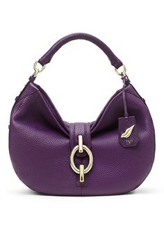Sutra Leather Hobo Bag In Viola ~dvf $425 http://www.dvf.com/sutra-leather-hobo-bag/H2266055N13.html?dwvar_H2266055N13_color=VIOLA#cgid=bags