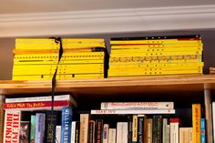 complete collection of Nest magazine in P Crangi's pad. so jealous!