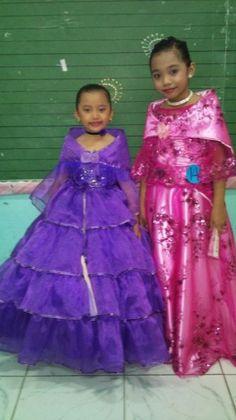 Filipiniana Dresses Filipiniana Wedding, Filipiniana Dress, Filipino Culture, Kids Gown, Folk Dance, Girl Costumes, Barot Saya, Traditional Outfits, Teacher Portfolio