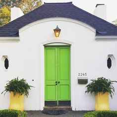 So Citrus - 16 Times A Painted Door Changed Everything - Photos