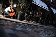 City Prowl Engagement Session by Alakija Photography