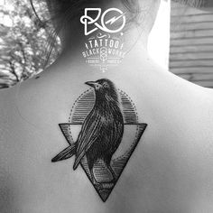 dotwork bird tattoo - Google Search
