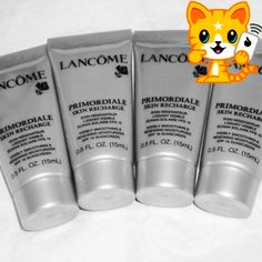 Lancome Primordiale face cream skin care anti aging Skin Recharge 4 mini =1.7oz