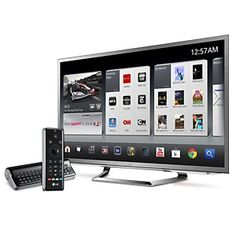 LG LED Google TV Cinema 3D 1080p HDTV with QWERTY Magic Remote and 6 Pairs of 3D Glasses at HSN.com.