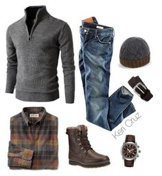 Rugged by keri-cruz on Polyvore featuring polyvore, fashion, style, H&M, Citizen, Anderson's Belts and Paul Smith