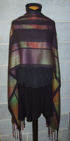 Handwoven hand painted Shawl  http://www.custommade.com/woven-shawl/by/terrysart/?lb=mbmf