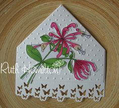 A Passion For Cards: Quick corner bookmark tutorial