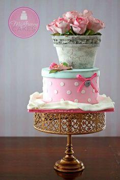 Pretty cake art~