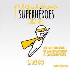 Dia internacional de la lucha contra el cancer infantil #NeverGiveUp