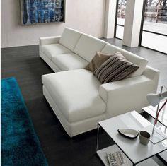 Sofá de esquina / moderno / de interior / 2 plazas OVIDIO Dall'Agnese Industria Mobili