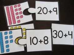 Place value expanded form puzzles and many more fun place value centers and worksheets