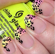 Neon & Leopard. What could be better?
