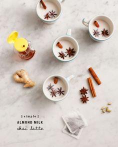 Almond Milk Chai Latte / @loveandlemons