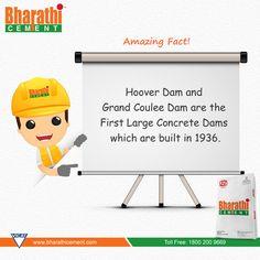 #AmazingFact An Intresting #Fact on first #Concrete #dams.