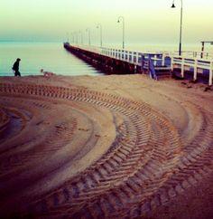 Still waters - St Kilda Beach Melbourne