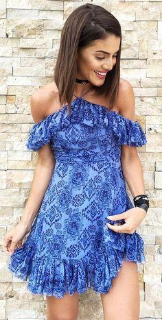 Bare Shoulder Little Dress                                                                             Source