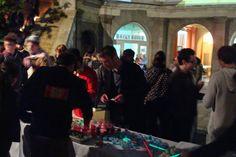 """Cocktail- ND4J """"Nuit anti super-héro"""" Avril 2014  L'event est vsible ici: http://www.eesab.fr/node/1382#.VEDuDousXQg"""