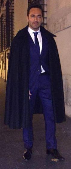 Mens Cape, Cloak, Capes, Menswear, Random, How To Wear, Style, Fashion, Tablecloths