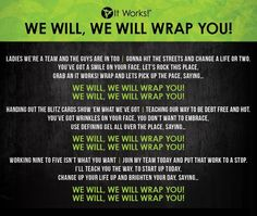 It Works theme song  Schedule a wrap party: https://www.facebook.com/itworksgreat.ca