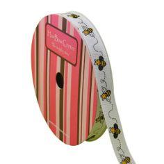 "Amazon.com: 3/8"" Bumblebee Grosgrain Ribbon 10yd: Arts, Crafts & Sewing"