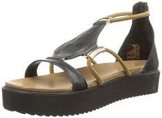 Inuovo  6130,  Damen Sandalen , Schwarz - Schwarz - Schwarz (Black) - Größe: 37 - http://on-line-kaufen.de/inuovo/37-eu-inuovo-6130-damen-sandalen-4