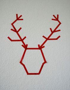 diy masking tape adventskerzen sophiagaleria weihnachten christmas pinterest. Black Bedroom Furniture Sets. Home Design Ideas
