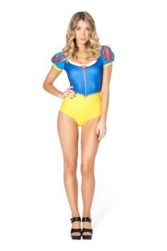 The Snow White swimsuit by Black Milk