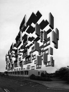 Surrealist Images of Levitating Buildings – Fubiz Media