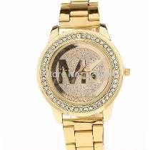 7b7cf9ee939 Relógio Dourado Feminino Importado Pronta Entrega Frete Free