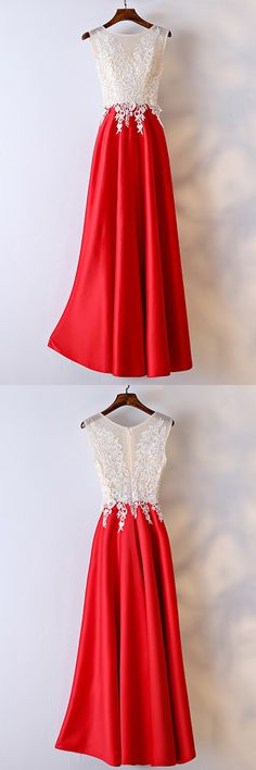 Only $109, Prom Dresses White And Red Lace Long Formal Dress For Women #MYX18176 at #GemGrace. View more special Bridal Party Dresses,Prom Dresses,Evening Dresses now? GemGrace is a solution for those who want to buy delicate gowns with affordable prices, a solution for those who have unique ideas about their gowns. 2018 new arrivals, shop now to get $10 off!