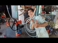 Welding Projects, Projects To Try, Metal Bending, Elevator, Tools, Log Projects, Reclaimed Barn Wood, Metal Projects, Homemade Tools
