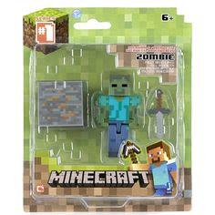 Minecraft Zombie actiefiguur