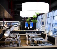 Fly Inn Restaurant & Deli - Helsinki-Vantaa Airport, Finland / dSign Vertti Kivi & Co Beautiful Interior Design, Home Interior Design, Interior Architecture, Interior Decorating, Commercial Design, Commercial Interiors, Interior Lighting, Lighting Design, Modern Lighting