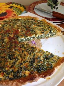 Lezzet Senfonisi: Ispanaklı ve Peynirli Kiş Quiche, No Gluten Diet, Turkish Recipes, Diet And Nutrition, Creative Food, Recipies, Veggies, Food And Drink, Cooking Recipes