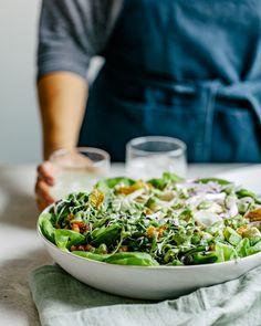 Green Goddess Cobb Salad Little Gem Lettuce, Turkey Wraps, Salad Ideas, Green Goddess, Meat Chickens, Crispy Chicken, Summer Ideas, Rotisserie Chicken, Weeknight Meals