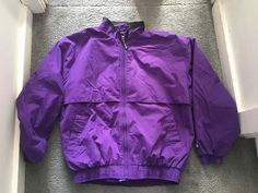 MENS PURPLE STARTER JACKET #STARTER #BasicJacket #Everyday
