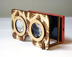 Mix and Match Boaz VR Glasses   Front Part Leaves by Vensterworks