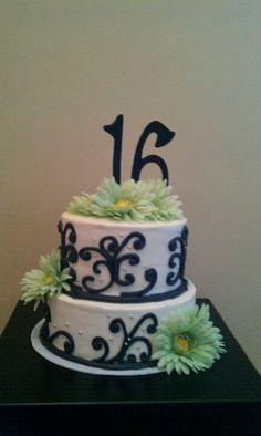Sweet 16 cake by me