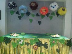 jungle party ideas cumpleaños selva