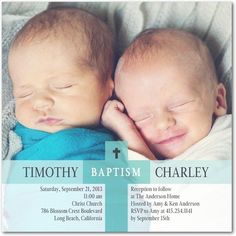 Shared Sweetness: Reef - Baptism, Christening Invitations in Reef | Hello Little One $1.74 each