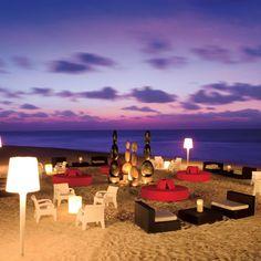 Evening on the beach at Secrets Silversands Riviera Cancun