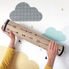 Regenmacher basteln: Schönes Upcyclingidee für alte Versandhülsen und Papprollen. Ein DIY Projekt bei dem auch Kinder gut mitmachen können. Das Ergebnis ist enormn entspannend und auch ein schönes DIY Geschenk