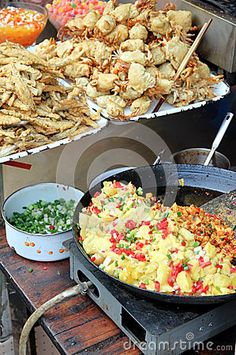 Chinese Street Food, Chongqing, China