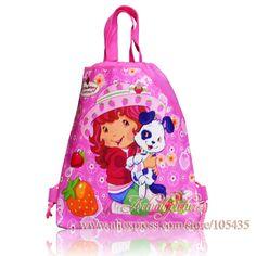Cheap handbag color, Buy Quality handbag vintage directly from China bag the Suppliers:Name:Strawberry Shortcake Cartoon bag&nb