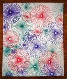 Make Spiro Art! #coloreveryday