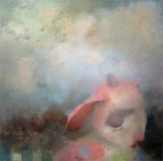Gillian Warden  'goodbye boy'  2006  oil on canvas  152cm x 152cm  (One of my all time faves :)