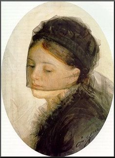 In mourning, 1880  Anders Zorn