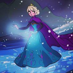 disneyfrozen:  Frozen sketch by princekido