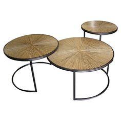 Jeffan 3 Piece Loma Nesting Table Set